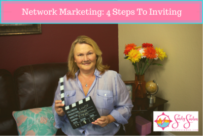 sandy Sinden, network marketing