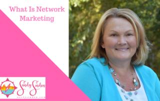 network marketing, sandy sinden
